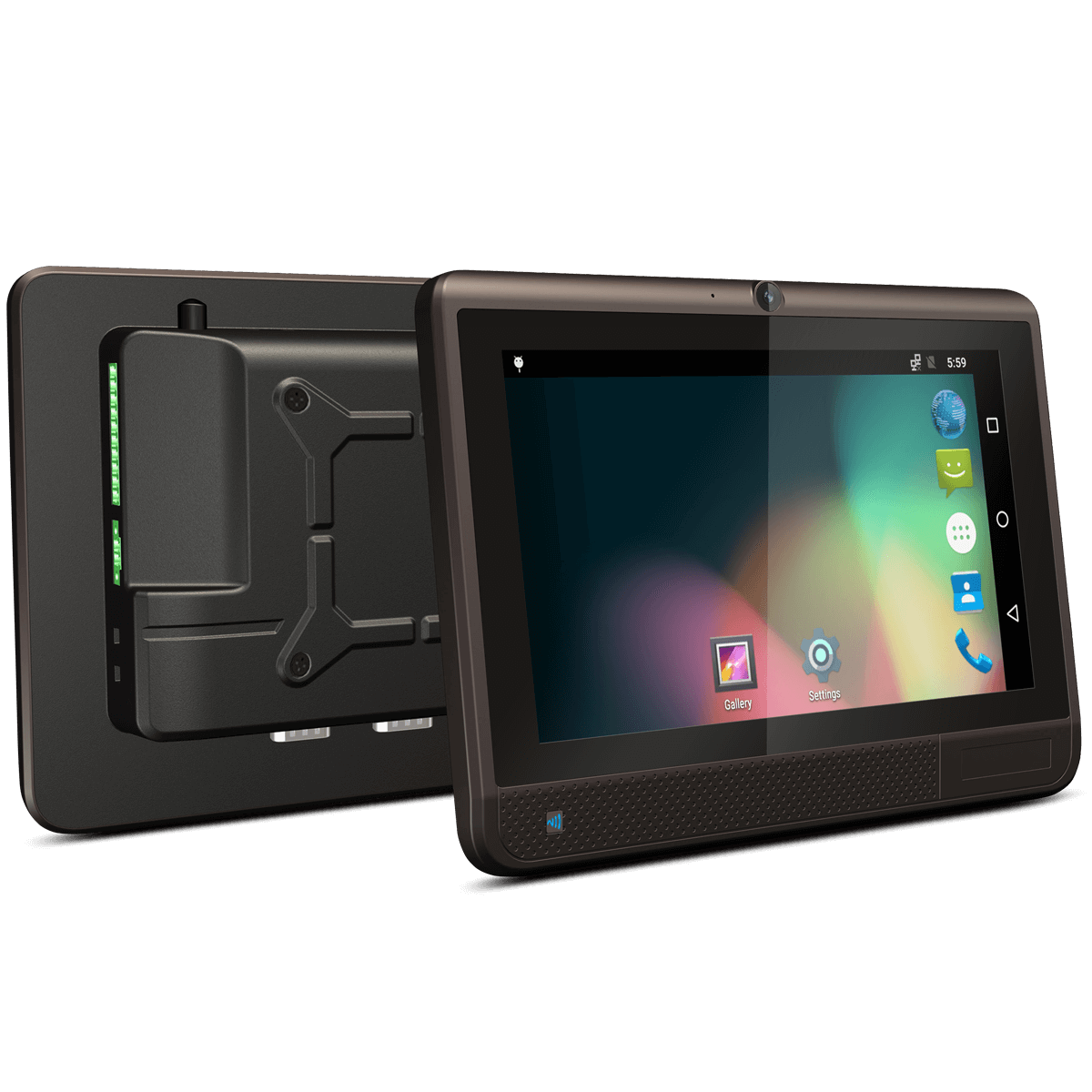 8 fully rugged android vehicle terminal car pc midas. Black Bedroom Furniture Sets. Home Design Ideas