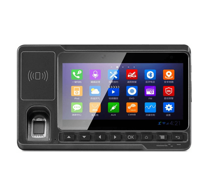 Android Vehicle Computer embedded Fingerprint Scanner