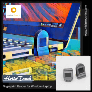 Midas Touch HelloTouch Fingerprint Reader - Designed for