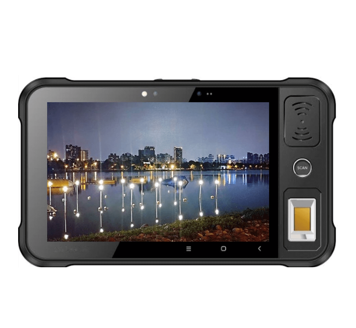 """MTA-3180-CF 8"""" Industrial Android Tablet Embedded Android Tablet Embedded FBI-certified Fingerprint Scanner"""