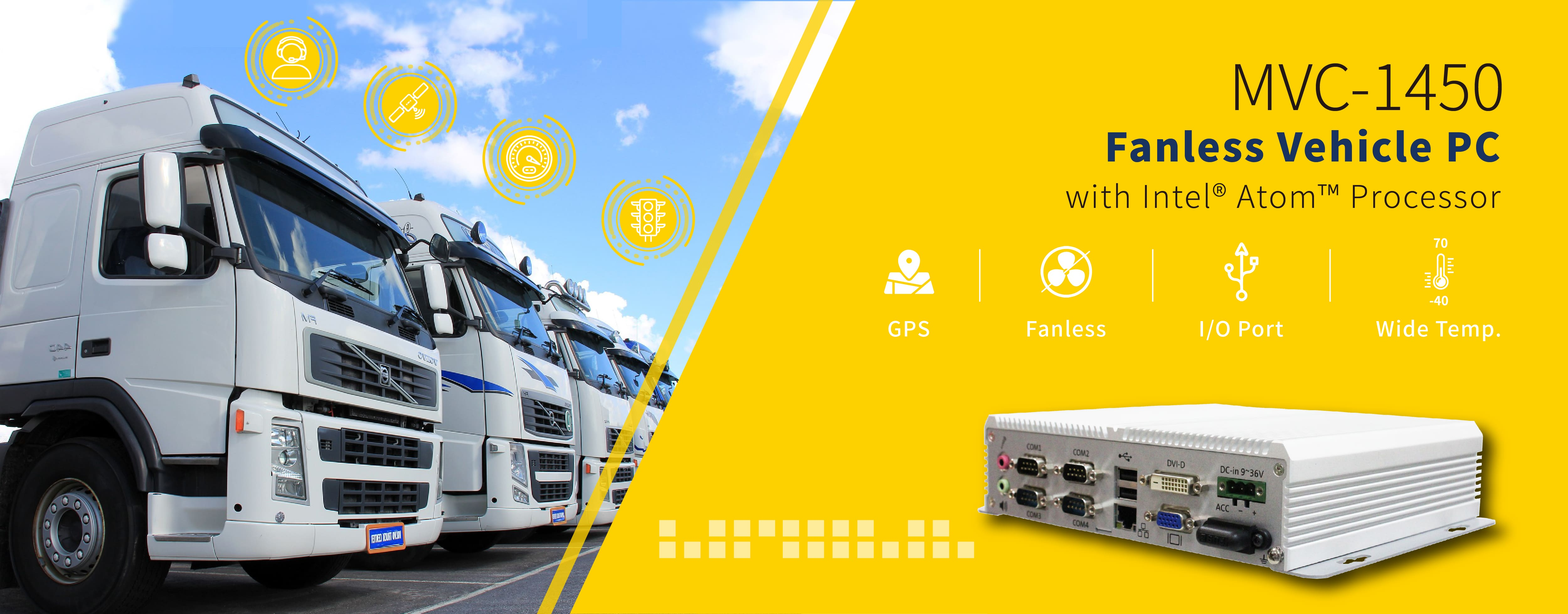 Rugged Fanless Vehicle Systems