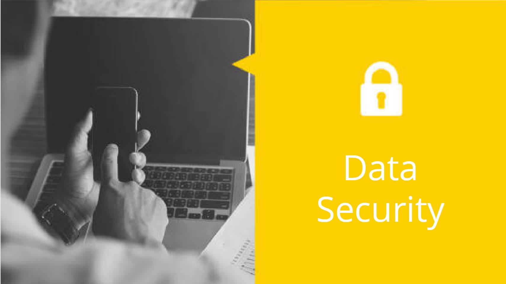 Fingerpritn Application for Data Security