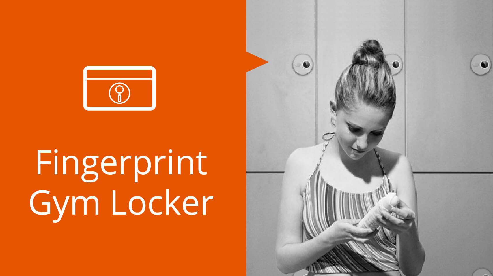 Fingerprint GYM Locker