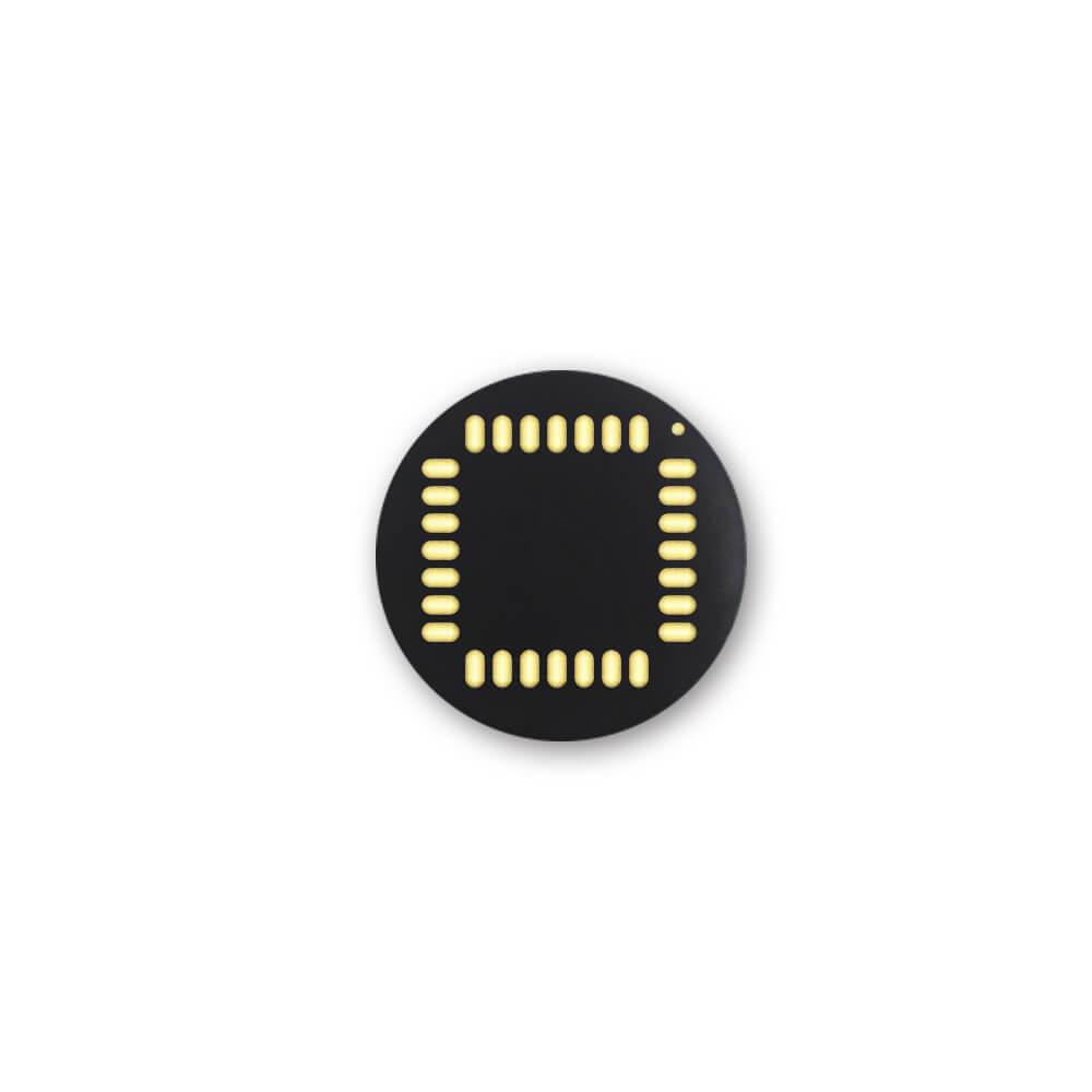 MFC-2160 160*160 pixel circular fingerprint sensor with IP 67 back view
