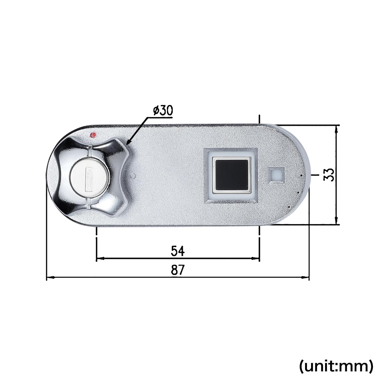 Cabinet/drawer biometric fingerprint lock - Midas Touch