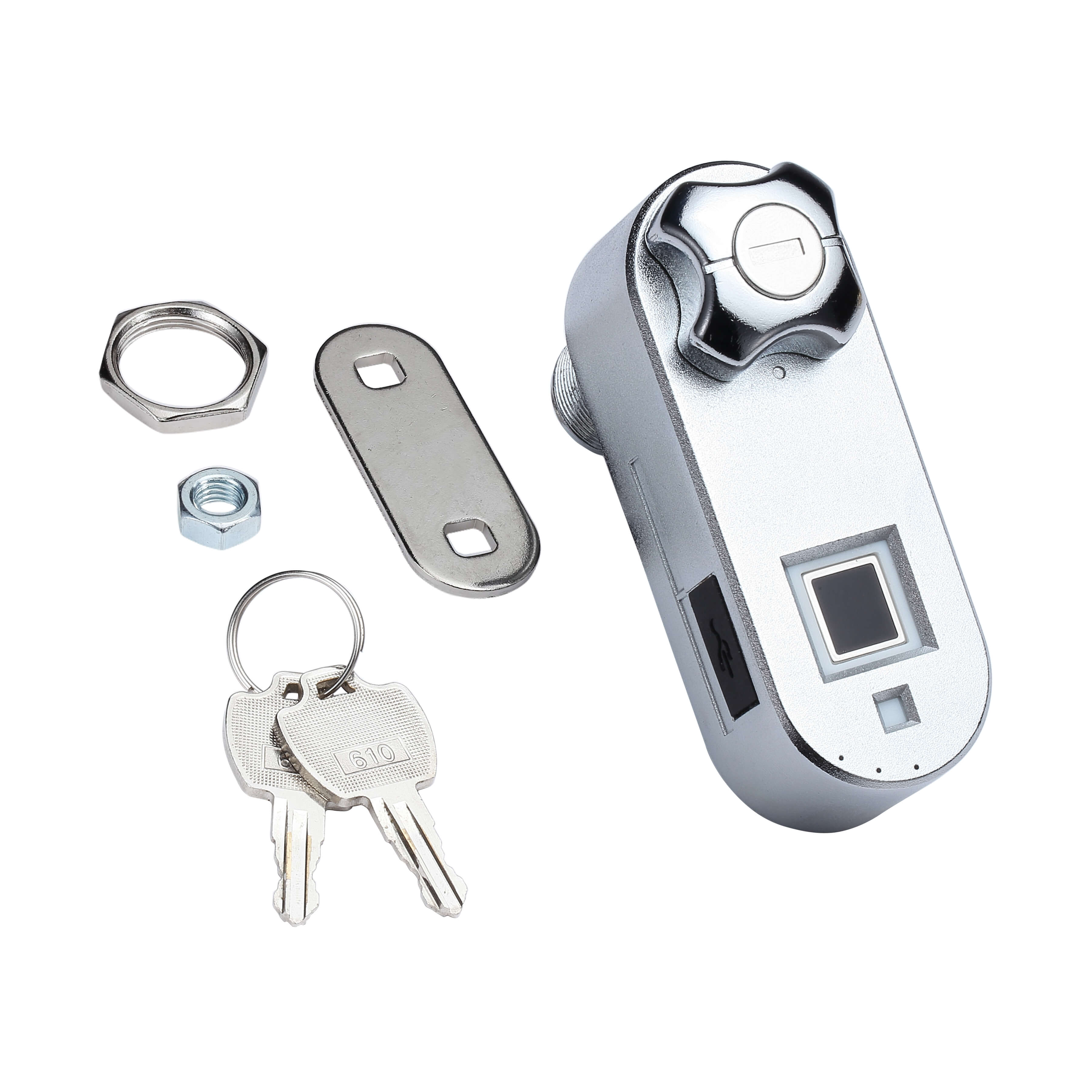 Fingerprint Cabinet Lock with Spare Keys | Midas Touch