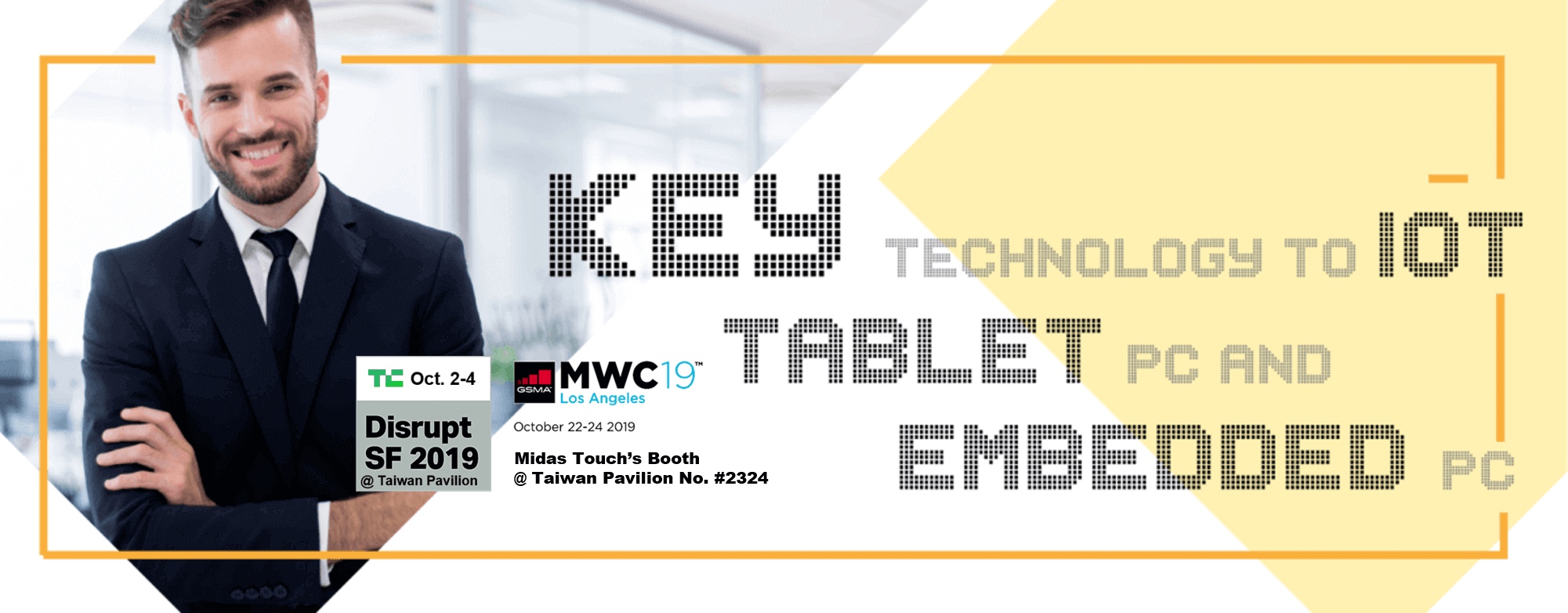 Midas Touch TechCrunch & Mobile World Conference 2019