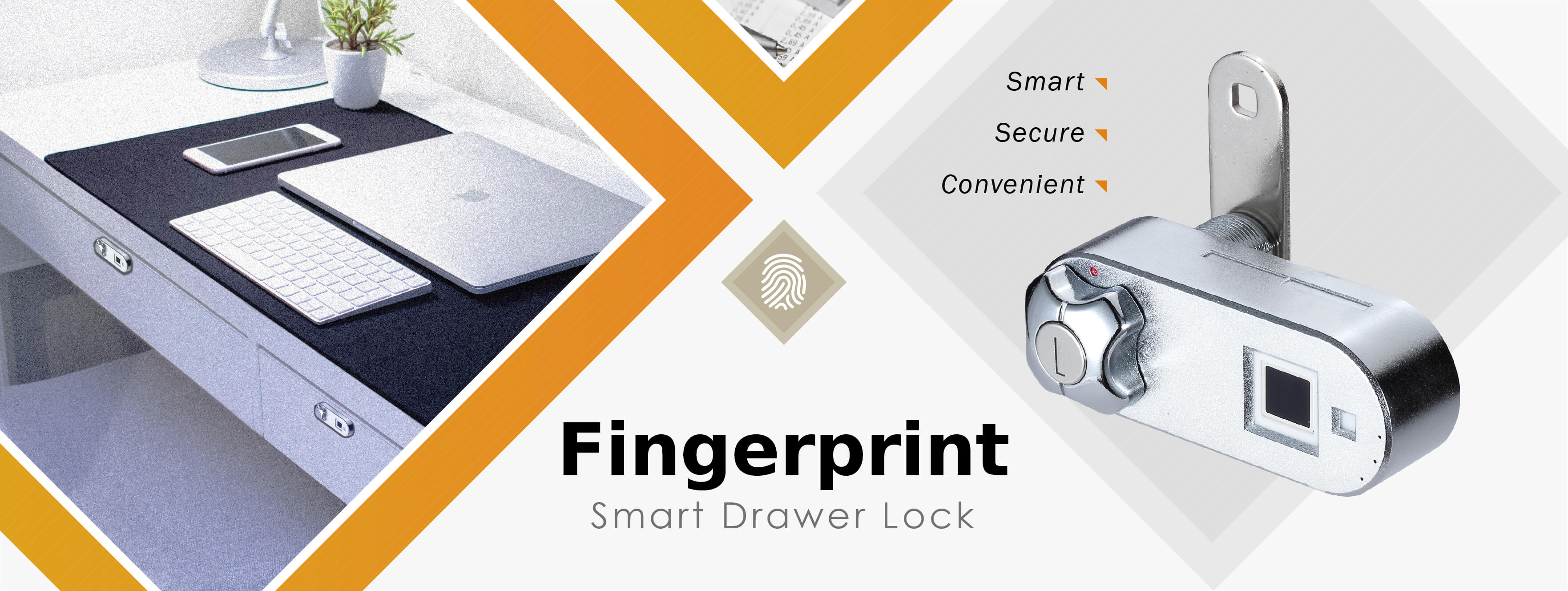 Fingerprint Smart Drawer Lock | Midas Touch
